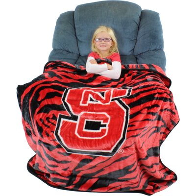 NCAA North Carolina State Wolfpack Throw Blanket