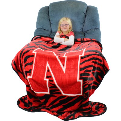 NCAA Nebraska Huskers Throw Blanket