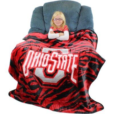 NCAA Ohio State Buckeyes Throw Blanket