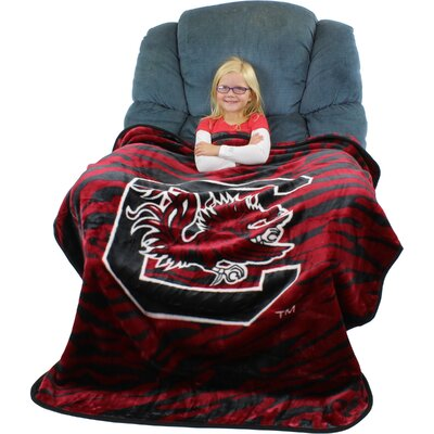 NCAA South Carolina Gamecocks Throw Blanket