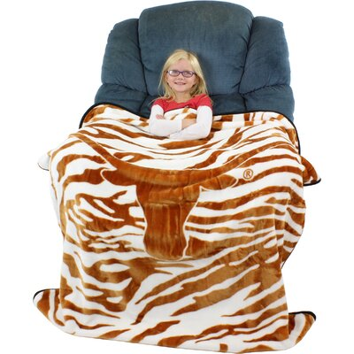 NCAA Texas Longhorns Throw Blanket