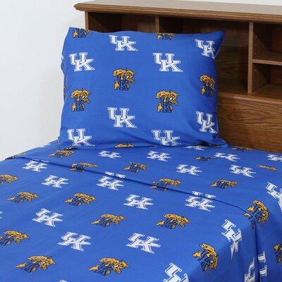 NCAA Kentucky Sheet Set Size: Twin