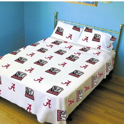 NCAA Alabama Sheet Set Size: Full