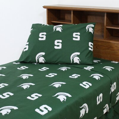 NCAA Michigan State Sheet Set Size: Full