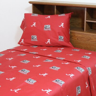 NCAA Alabama Sheet Set Size: Queen