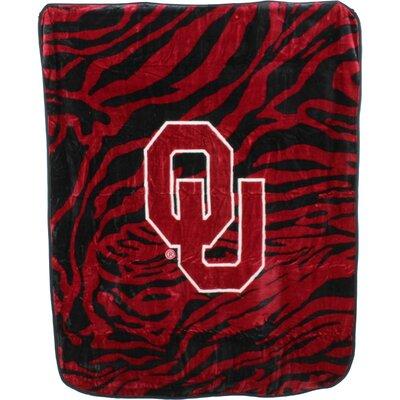 NCAA Oklahoma Sooners Throw Blanket