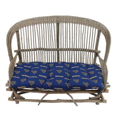 NCAA West Virginia Outdoor Sofa Cushion