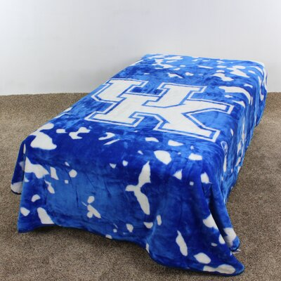 NCAA Kentucky Throw Blanket