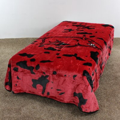 NCAA Arkansas Throw Blanket