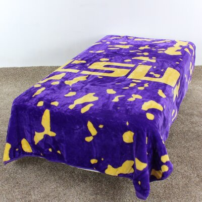 NCAA LSU Throw Blanket