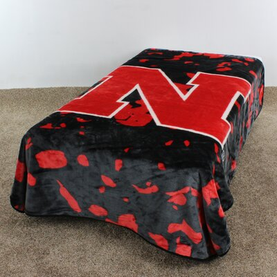 NCAA Nebraska Throw Blanket