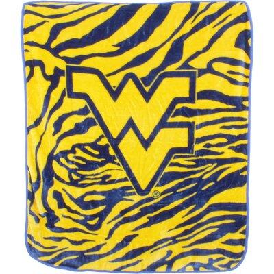 NCAA West Virginia Mountaineers Throw Blanket