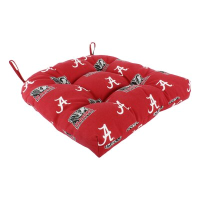 NCAA Alabama Outdoor Dining Chair Cushion