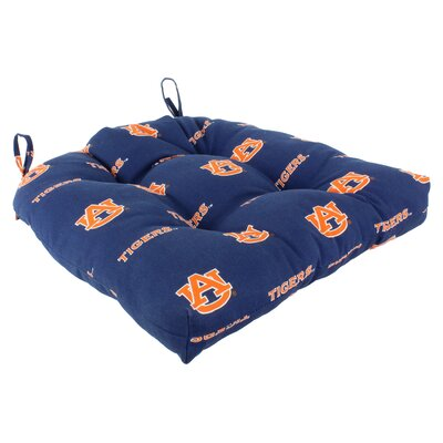NCAA Auburn Outdoor Dining Chair Cushion