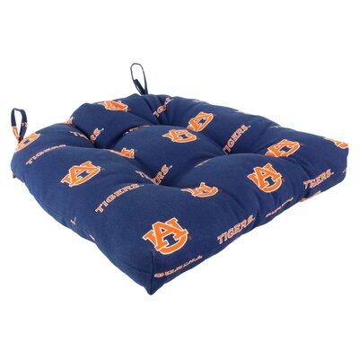 NCAA Auburn Outdoor Dining Chair Cushion