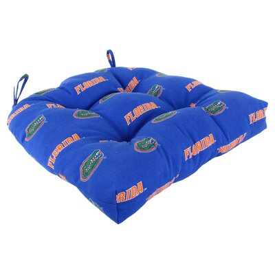 NCAA Florida Gators Outdoor Dining Chair Cushion