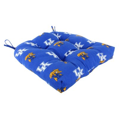 NCAA Kentucky Outdoor Dining Chair Cushion