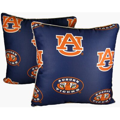 NCAA Auburn Cotton Throw Pillow