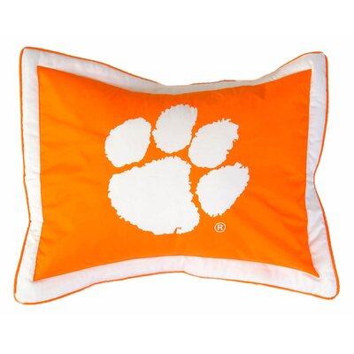 NCAA Clemson Pillow Sham