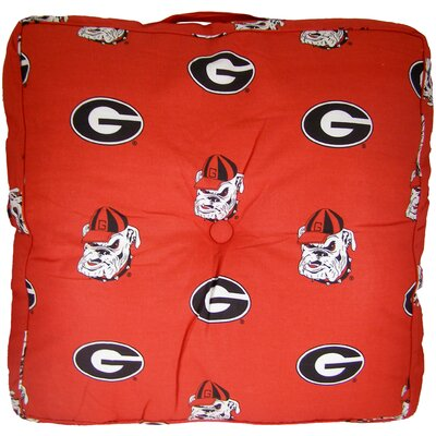 NCAA Georgia Floor Pillow
