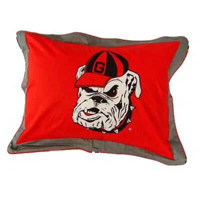 NCAA Georgia Pillow Sham