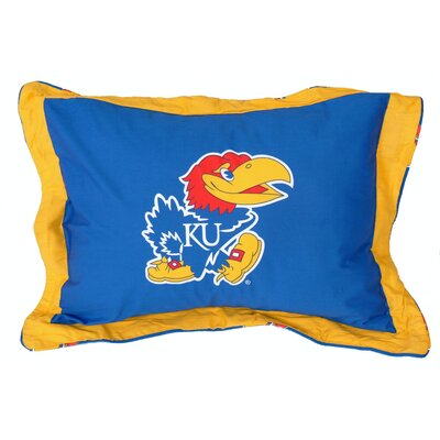NCAA Kansas Pillow Sham