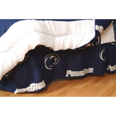 NCAA Penn State Dust Ruffle Size: Queen