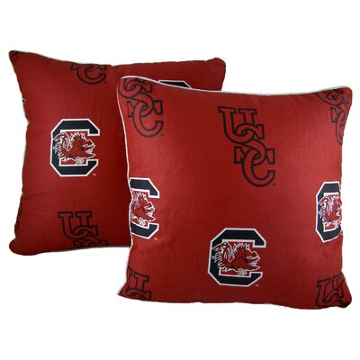 NCAA Throw Pillow NCAA Team: South Carolina