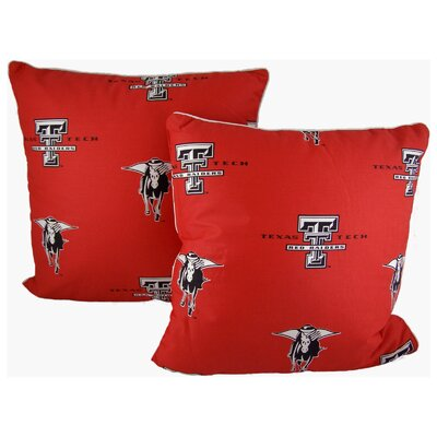NCAA Throw Pillow NCAA Team: Texas Tech
