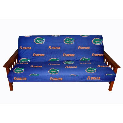 NCAA Box Cushion Futon Slipcover NCAA Team: Florida Gators