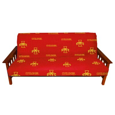 NCAA Box Cushion Futon Slipcover NCAA Team: Iowa State