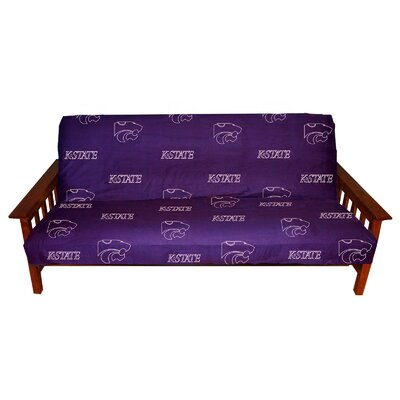 NCAA Box Cushion Futon Slipcover NCAA Team: Kansas State