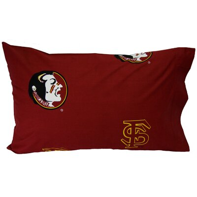 NCAA Florida State Seminoles Pillowcase Size: King