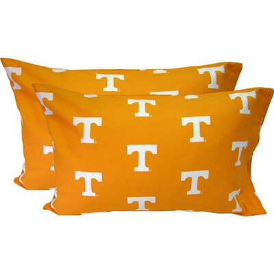 NCAA Tennessee Pillowcase Size: Standard