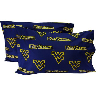 NCAA West Virginia Mountaineers Pillowcase
