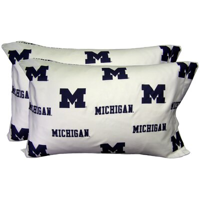NCAA Michigan Pillowcase
