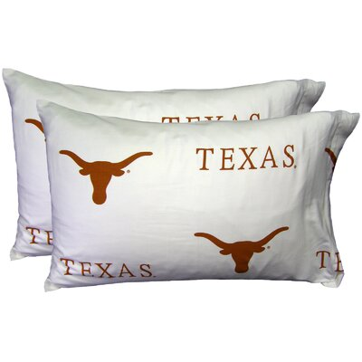 NCAA Texas Pillowcase