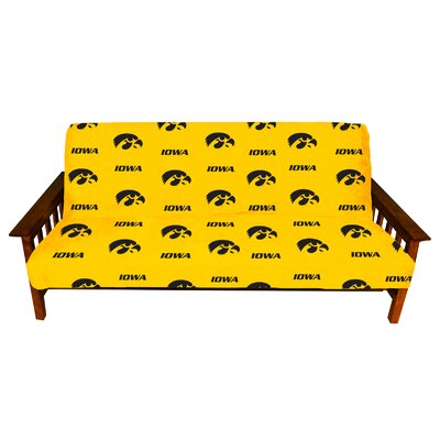 NCAA Futon Slipcover NCAA Team: Iowa