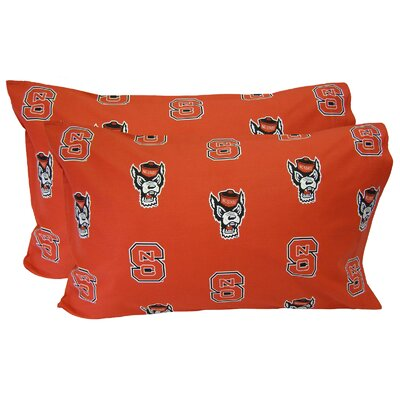 NCAA North Carolina State Wolfpack Pillowcase