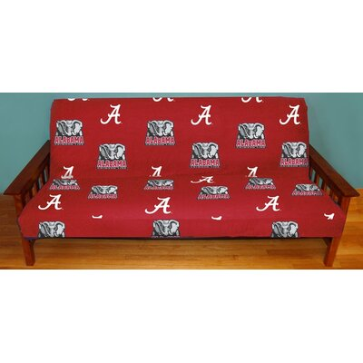 NCAA Futon Slipcover NCAA Team: Alabama
