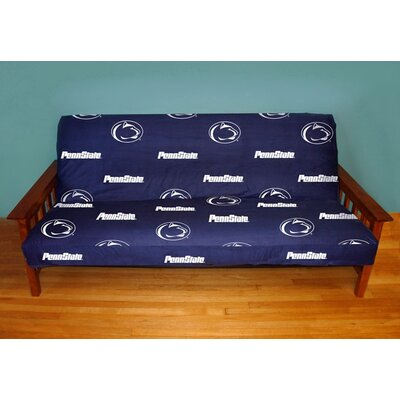 NCAA Box Cushion Futon Slipcover NCAA Team: Penn State