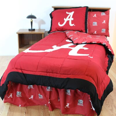 NCAA Alabama Reversible Bed in a Bag Set Size: Queen