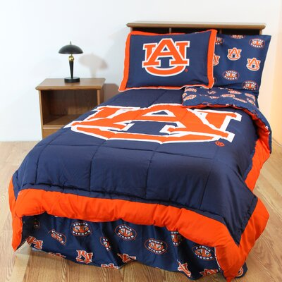 NCAA Auburn Reversible Bed in a Bag Set Size: King