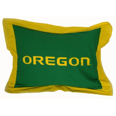 NCAA Oregon Pillow Sham