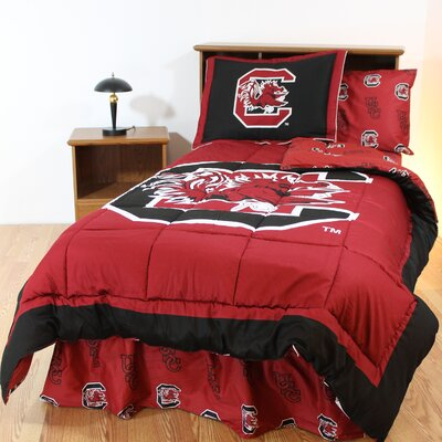 NCAA South Carolina Reversible Bed in a Bag Set Size: Full