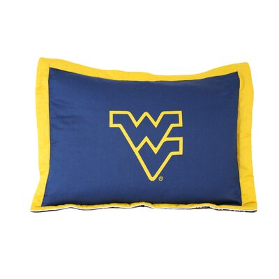 NCAA West Virginia Pillow Sham