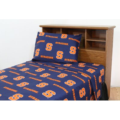 College Covers NCAA Cotton Sateen Sheet Set - Size: King, NCAA Team: Syracuse at Sears.com