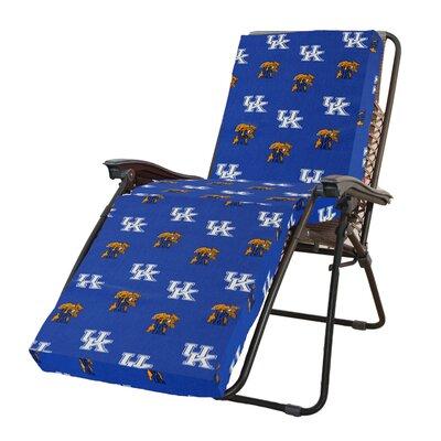 NCAA Kentucky Outdoor Chaise Lounge Cushion