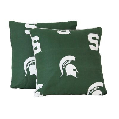 NCAA Michigan State Decorative Cotton Throw Pillow