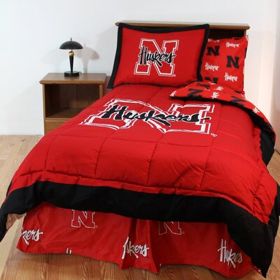 NCAA Reversible Bed in a Bag Set Size: Full